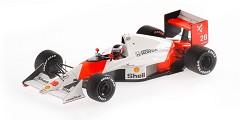 McLaren MP4/5B. G. Berger2nd place Bra
