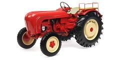 Porsche Super traktor 1958 red