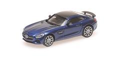 Mercedes AMG GTS 2015 blue metallic