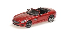 Mercedes AMG GTS cabriolet 2017 red