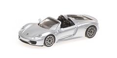 Porsche 918 spyder 20130 silver