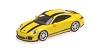 Porsche 911R 2016 yellow w/ black stripe