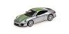 Porsche 911R 2016 silver w/ green stripe