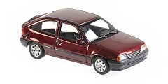 Opel Kadett E 1990 red metallic