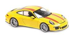 Porsche 911R 2016 yellow