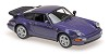 Porsche 911 turbo (964) 1990 purple