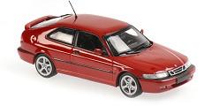 Saab 9-3 viggen 1999 red