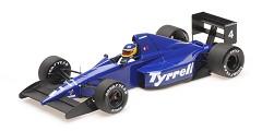Tyrrell Ford 018 M. Alboreto 3rd Mexican