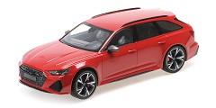 Audi RS6 Avant 2019 red metallic