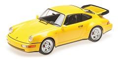 Porsche 911 turbo (964) 1990 yellow