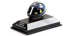 AGv helmet V. Rossi winter test Sepang 2