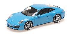Porsche 911 (991.2) Carrera 4S 2017 blue