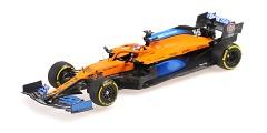 McLaren Renault MCL35 C. Sainz launch